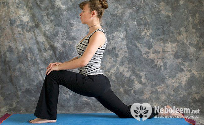 Покачивание на колене