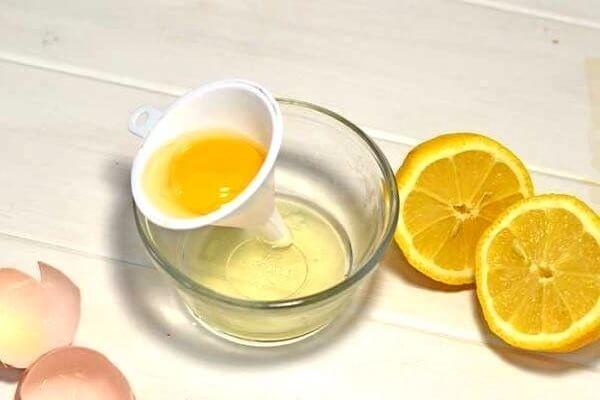 Яйцо с лимоном при аллергии