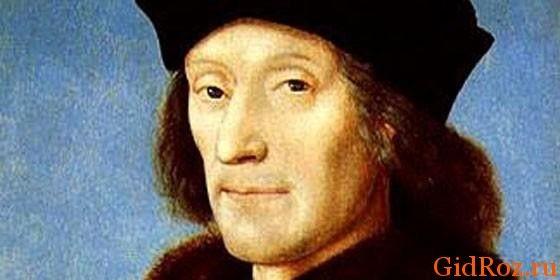 Генрих VII - правитель, на время которого и попала эта страшная эпидемия
