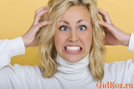 Стресс, страх и другие эмоциональные состояния - причина сильного потоотделения!