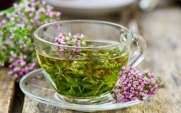 Чай с чабрецом от кашля