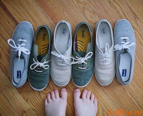 Выбирая обувь, обратите внимание, из чего она изготовлена и на качество, иначе проблемы с ногами Вам не избежать!