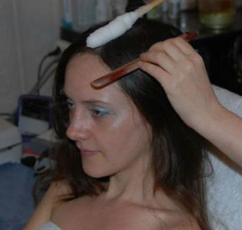 Что такое криомассаж волосистой части головы