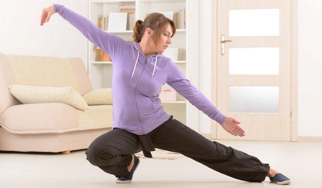 Тайчи - комплекс упражнений, включающий гимнастику и боевое искусство
