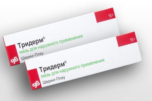 Тридерм от грибка лечение