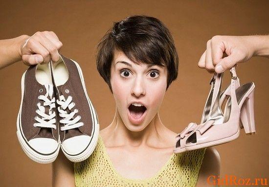 Избавляемся от неприятного аромата в обуви