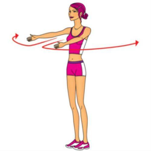 Упражнения для увеличения грудных желез