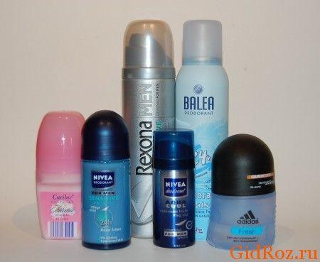 Выбирая антиперспирант или дезодорант, ориентируйтесь на его состав! А дальше - дело вкуса!