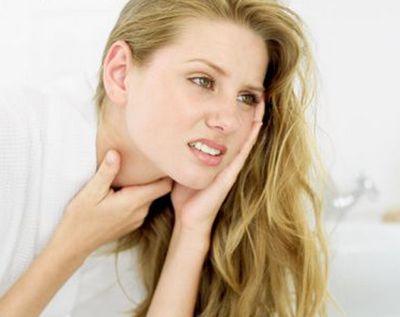 Как вылечить горло при беременности