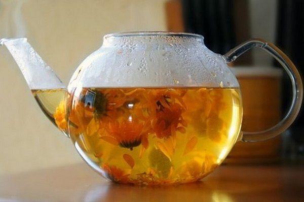 Чай календулы для беременных