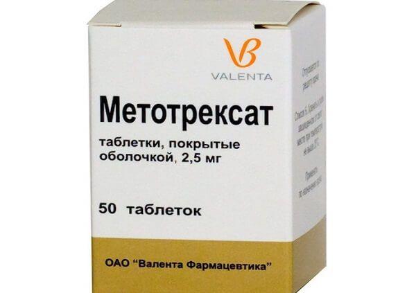 Лечение метотрексатом