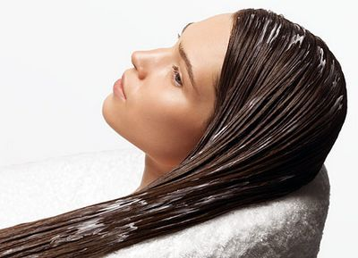 Маска для волос массаж