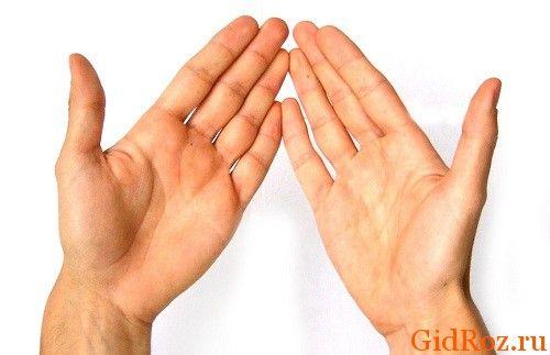 Что-то случилось с кожей рук? На ладонях появились пузырьки? Не паникуйте, это заболевание не заразное, обусловлено потоотделением!