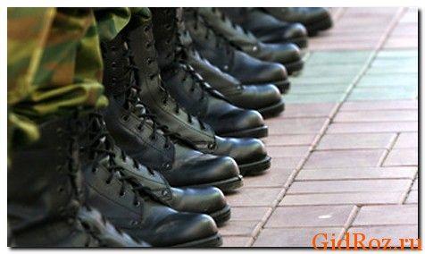 Служба в армии - подруга гипергидроза! А все из-за закрытой обуви солдат!