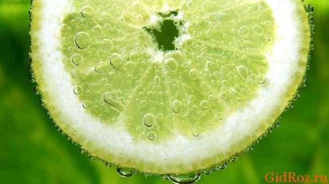 Сок лимона - самое простое средство от Вашей проблемы!