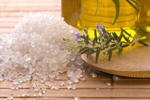 Ванны с морской солью от псориаза
