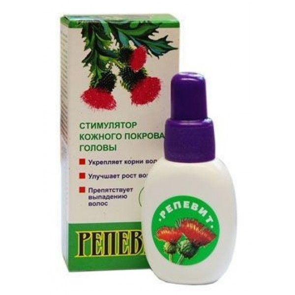 Репевит – натуральное средство для укрепления волос