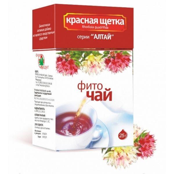 Чай из красной щетки