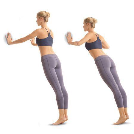упражнение стена