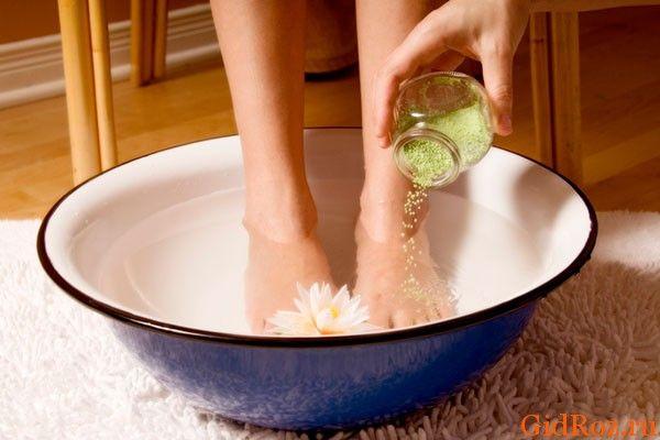 Ванночки для рук и ног от пота и неприятного запаха